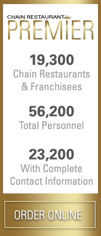 Restaurant Franchisee Premier Database