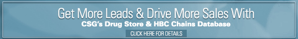 Drug & HBC Store Leads