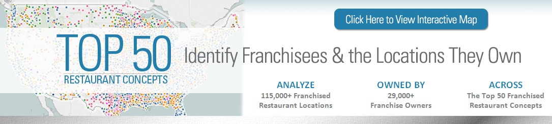 Top 50 Restaurant Concepts Database